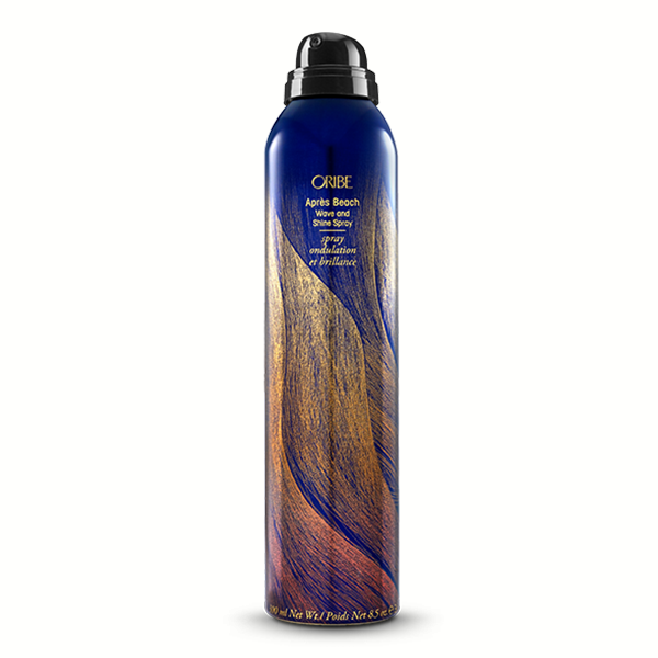 Oribe Apres Beach Wave & Shine Spray: Get beach-to-bombshell hair (tousled, touchable waves with sun-kissed shine) without the salty stiffness. Our moisturizing glamour spray uses rich extracts and exotic oils for lush repair and sultry texture.