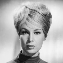 Barbara Eden showing of a 1950's bouffant