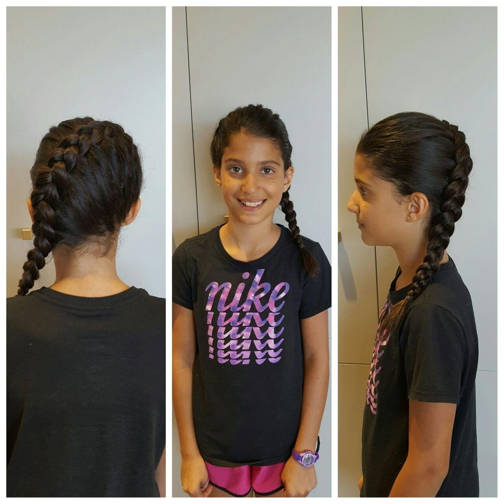 Braid styling done by Crystal