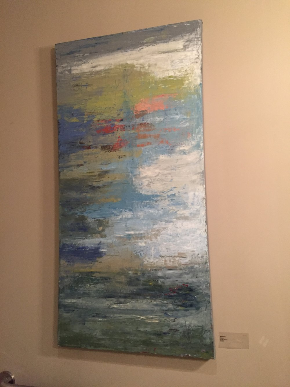 Meditation, 24x48, Oil on canvas, $2400