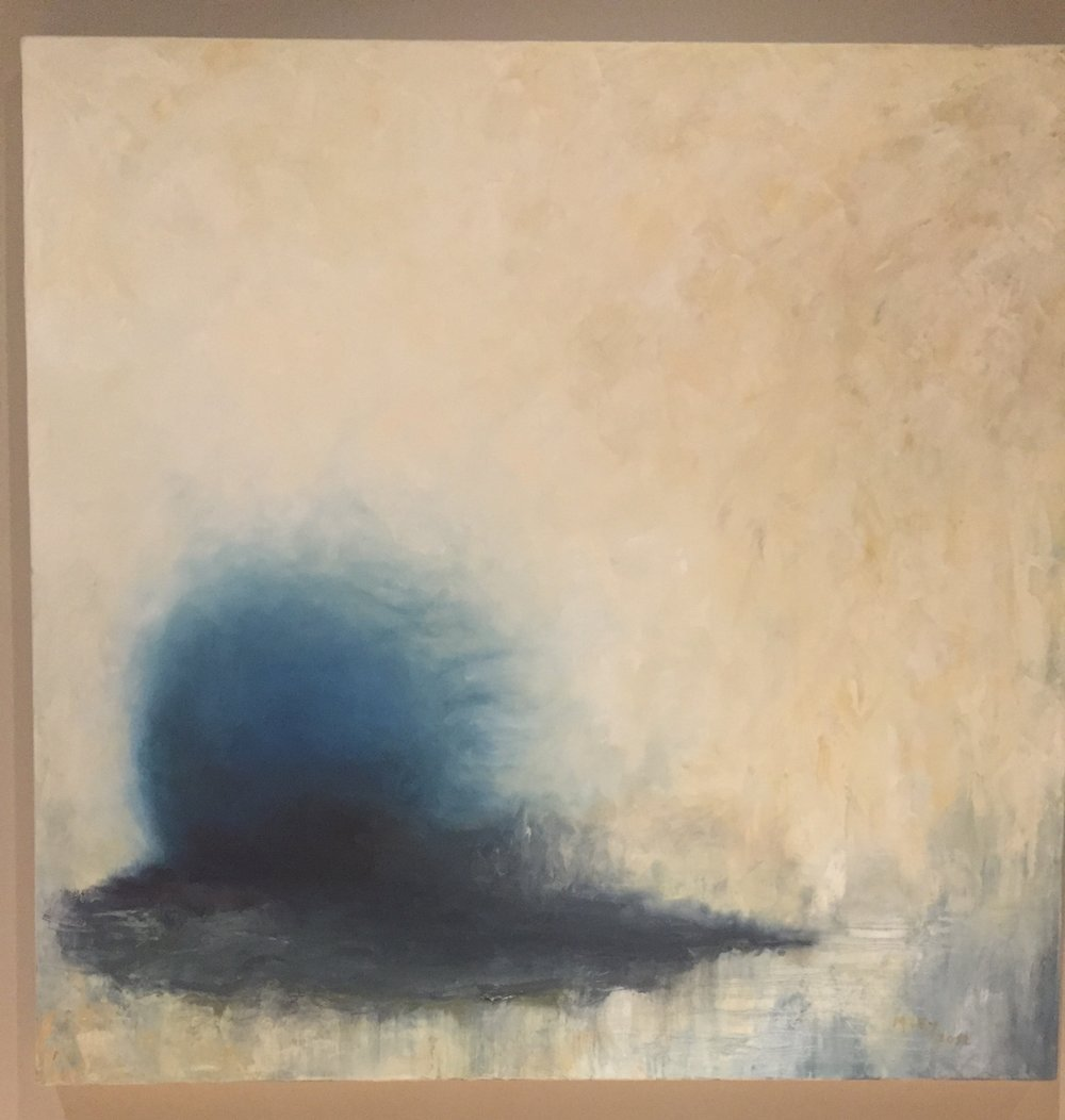 Unknowable Series -Place 2, 40x40, oil on canvas, $1,200