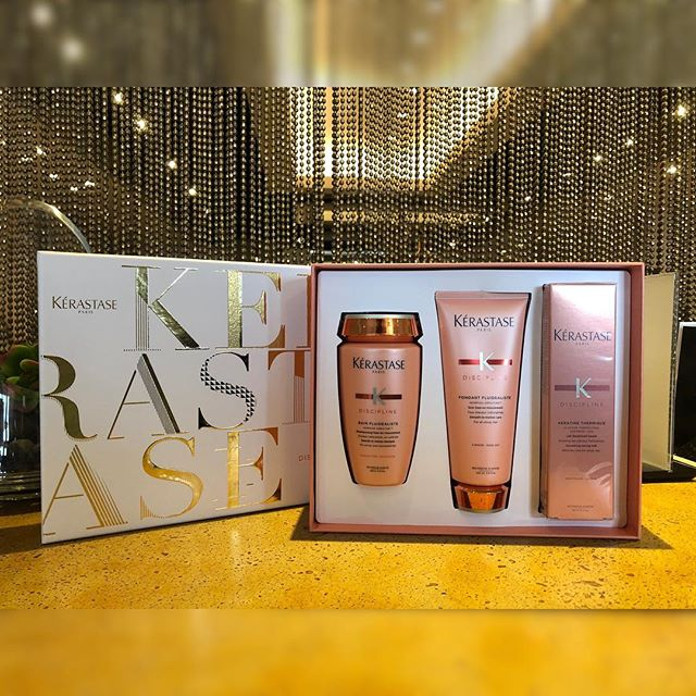Congratulations 🎉🍾 to Jeanette Nagel for winning our February Pre-Booking Raffle! You've won a complimentary conditioning treatment at your next appointment and a @kerastase_official gift set containing a full size Discipline Shampoo, Conditioner, and Heat Protectant! (Valued at $150) ✨💕 . . . . . . . #kerigoldsalon #kerastase #kerastaseofficial #buckheadsalon #buckheadhair #atlanta #atlantahairsalon #winner #loveourclients
