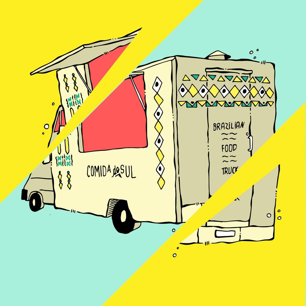 The Brazilian food truck