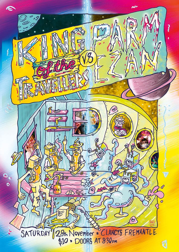 poster for King of the Travellers