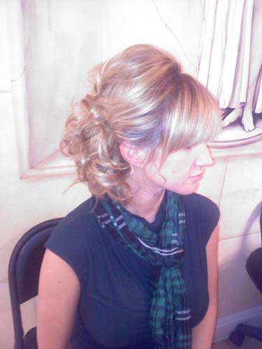 Maria Milanes Hair - Special Occasion, Wedding, Up-Do, Up-do, Valencia, Los Angeles, Granada Hills