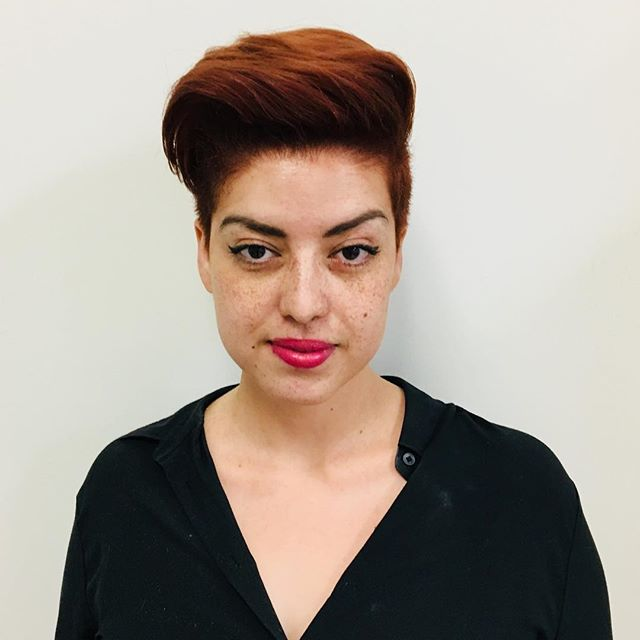 Maria Milanes Hair - Color Correction, Red Hair, Copper Hair, Short Hair, Gliss Products, Valencia, Los Angeles, Granada Hills