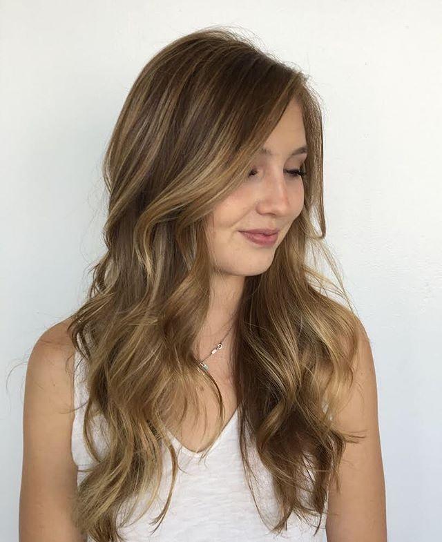 Maria Milanes Hair - Beachy Waves, Sun Kissed Hair, Valencia, Los Angeles, Granada Hills