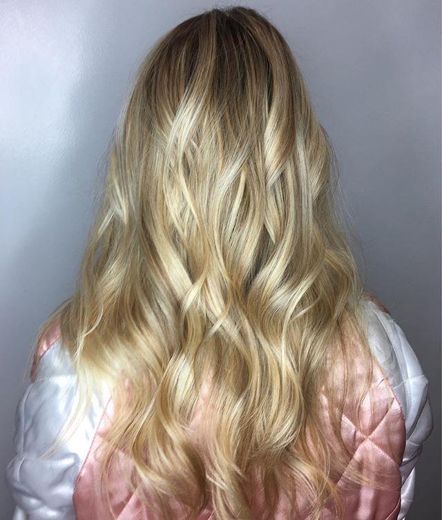 Maria Milanes Hair - Fresh Blonde Highlights, Valencia, Los Angeles, Granada Hills