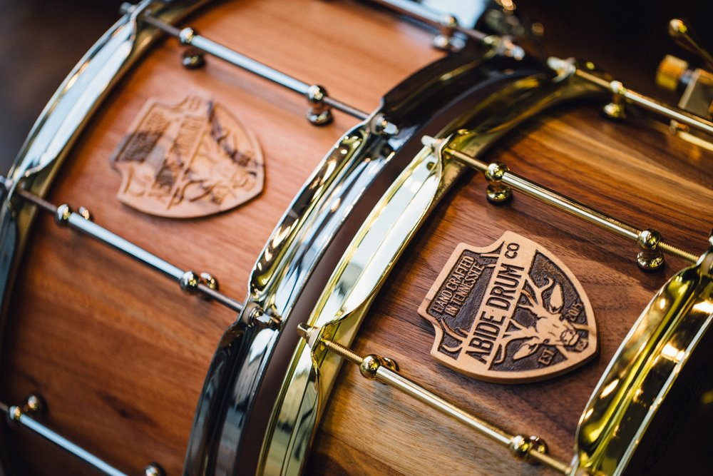 ABIDE DRUM CO.   CUSTOM DRUMS TO FIT YOU AND YOUR SOUND.