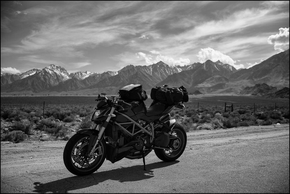Sierra Motorcycle Trip