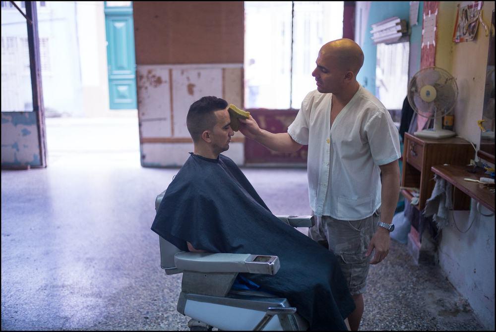 Barbershop, Old Havana