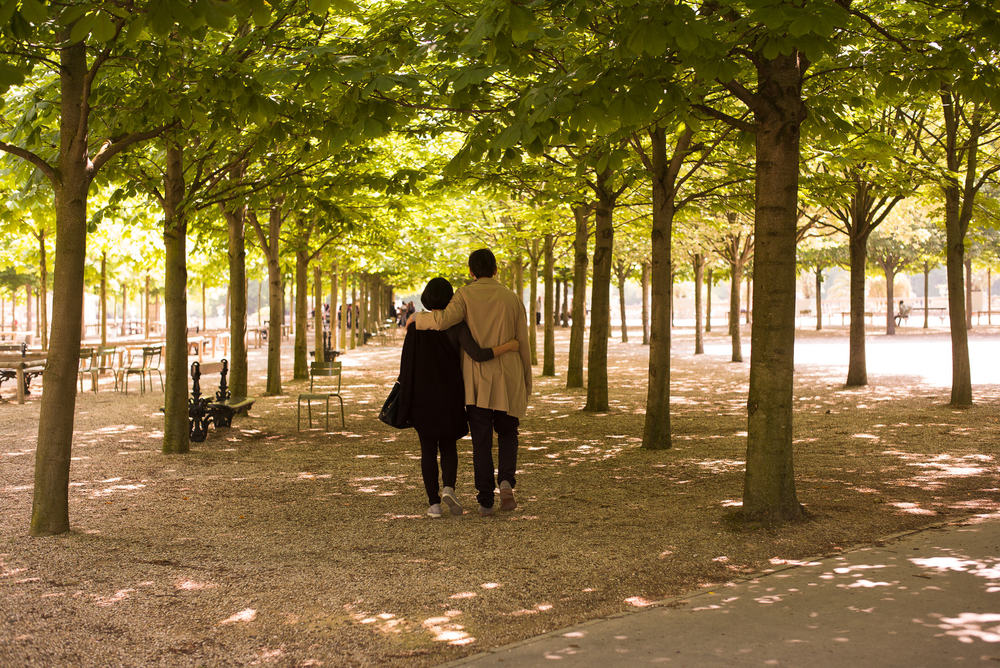 A Stroll in the Jardin