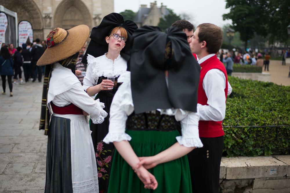Alsace Dancers