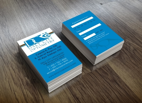 Loren susvilla daly city optometry business cards colourmoves