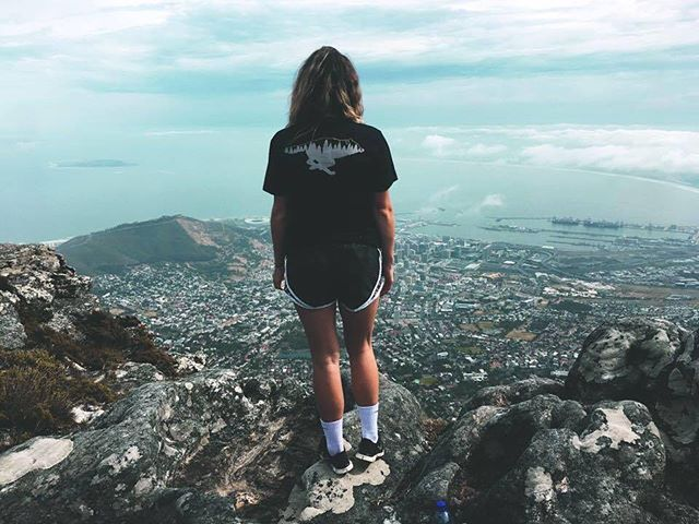 @katerina4492 on top of the world in Cape Town