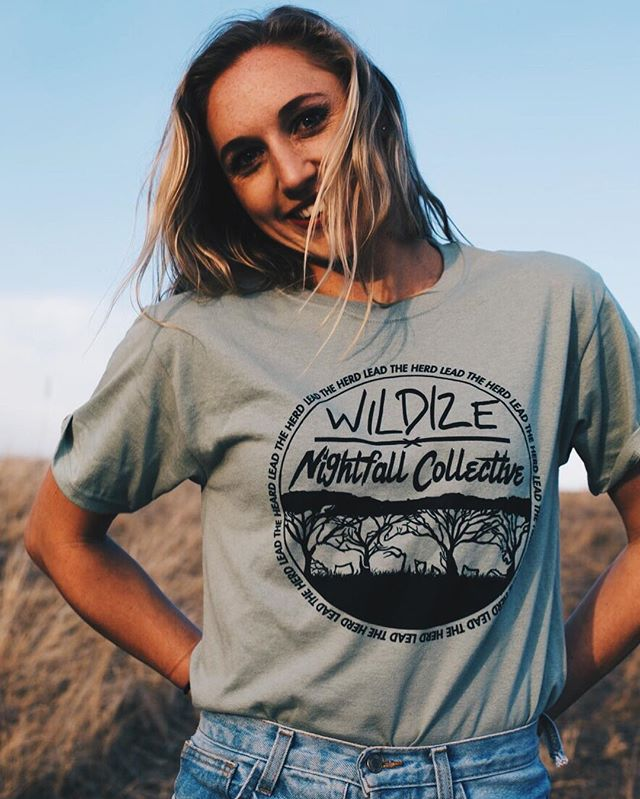 WILDIZE x NIGHTFALL available online now (link in bio) 📷: @kayliweiss7
