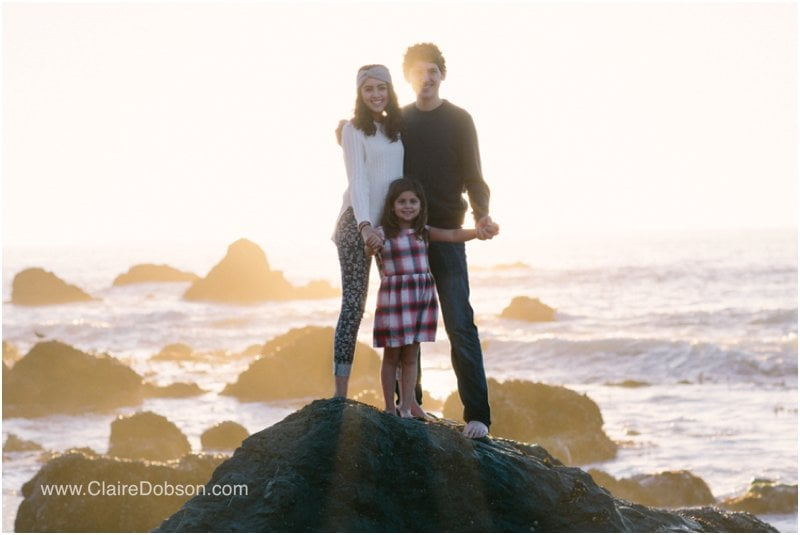 sonoma county beach family photographer