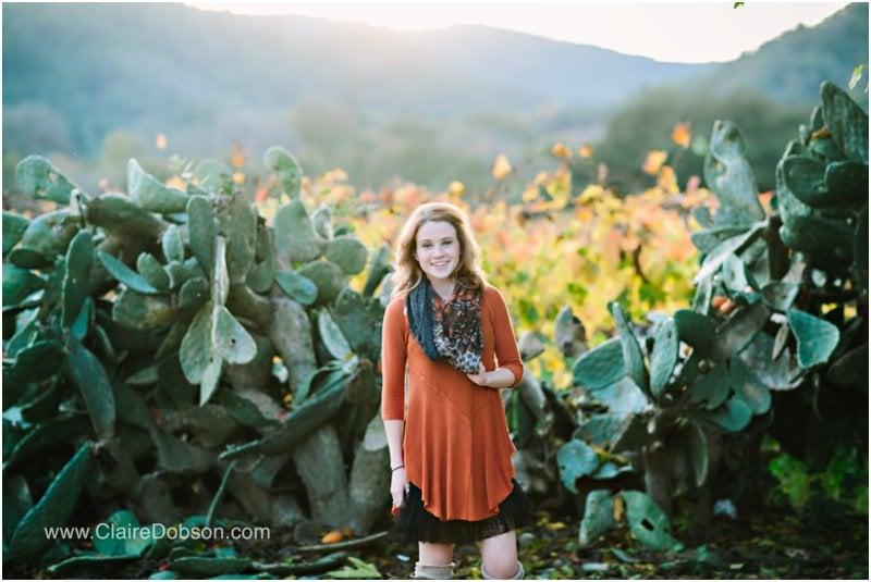 sonoma county senior photographer