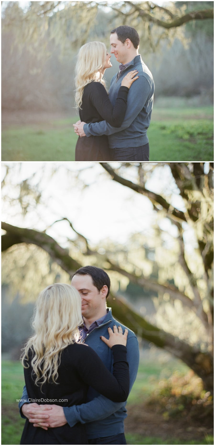 Point Reyes National Park Engagement Session from Claire Dobson Photography