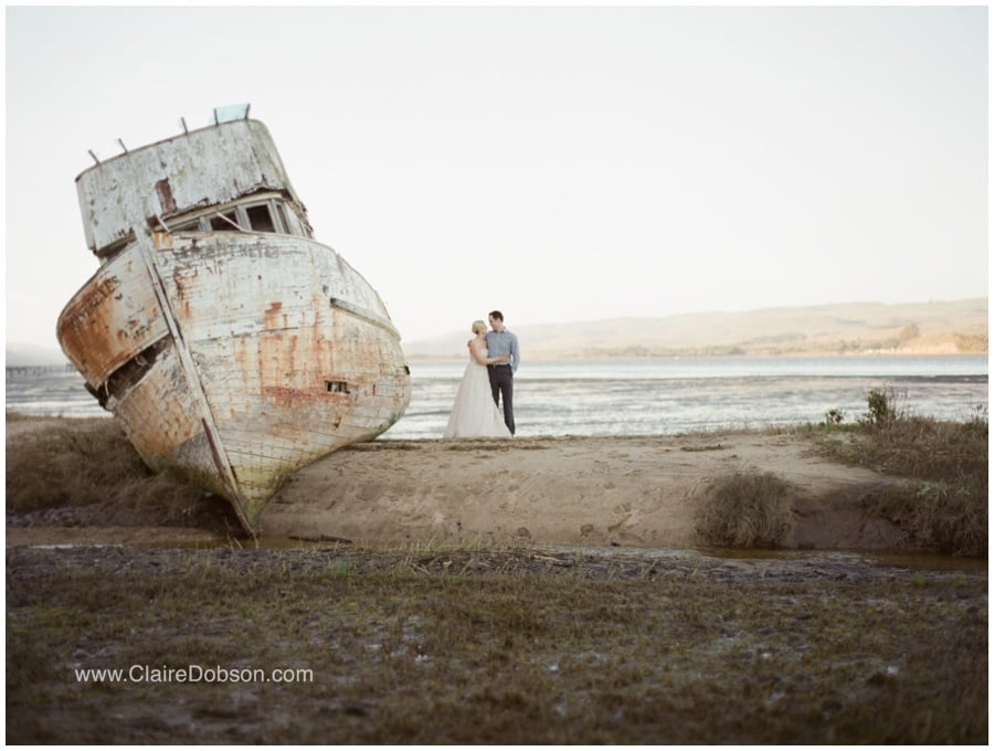 Abandoned Ship Point Reyes   photography by Claire Dobson Photography