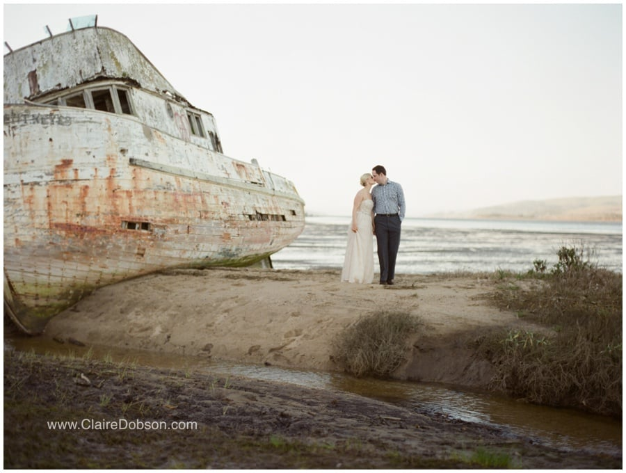 Abandoned Ship Point Reyes | photography by Claire Dobson Photography