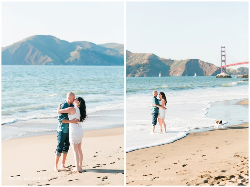 San francisco baker beach engagement session 500