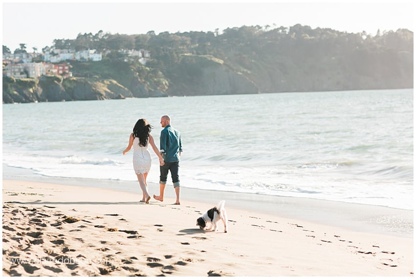San francisco baker beach engagement session 501