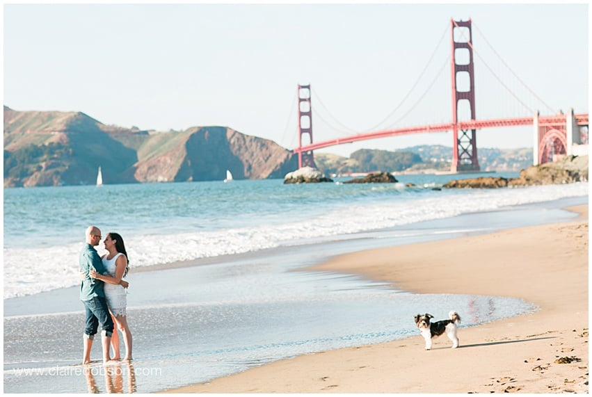 San francisco baker beach engagement session 502