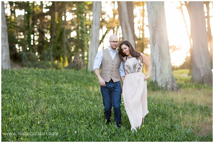 San francisco baker beach engagement session 507