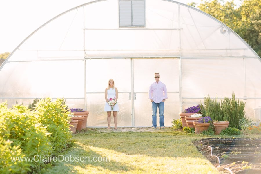Green house wedding pictures