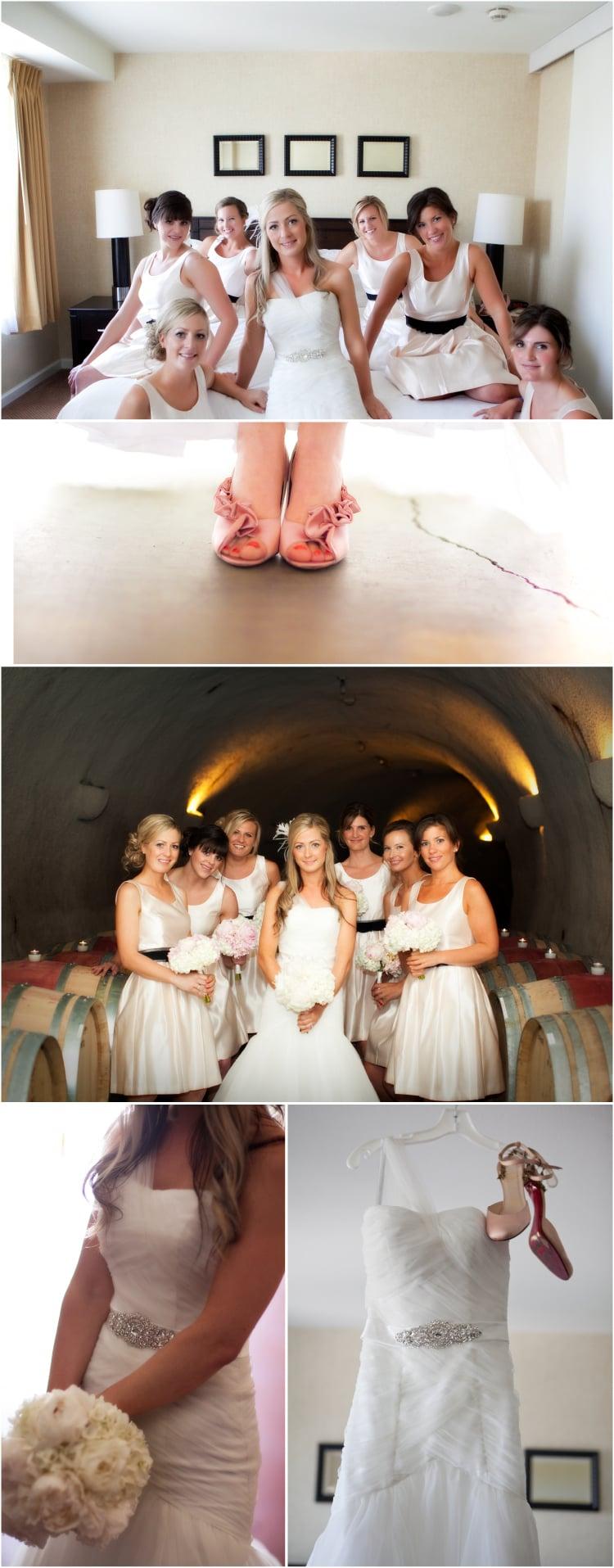 bridesmaids and keller estates vineyard