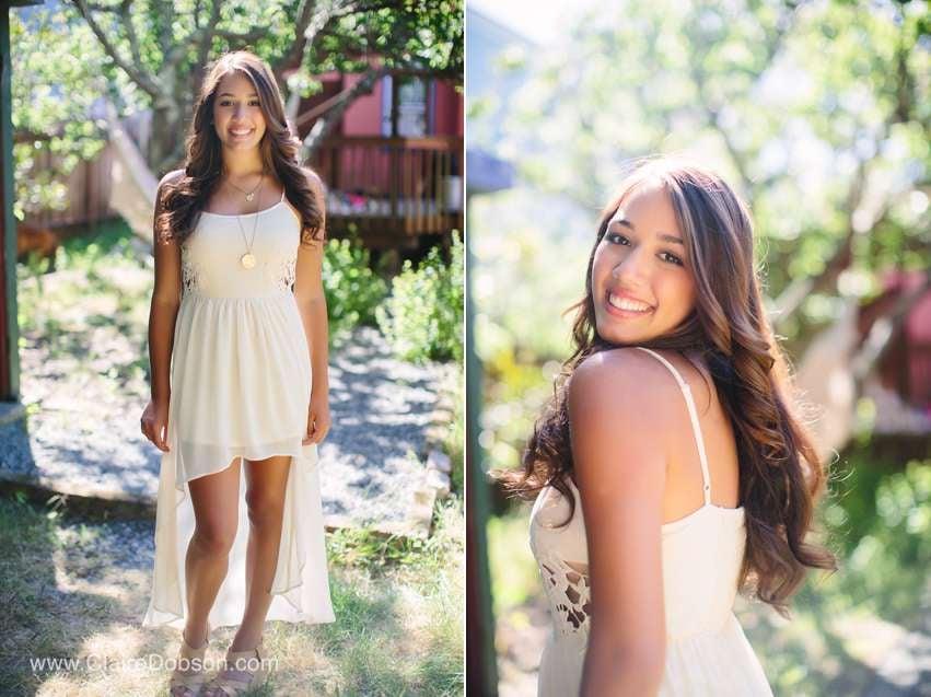 high school senior model shoot
