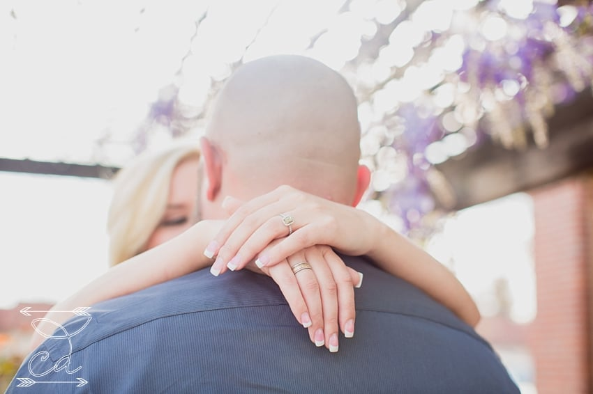 engagement picture in santa rosa