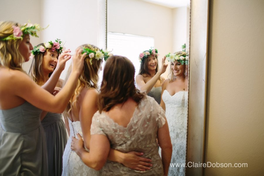 floral crowns for your wedding day.