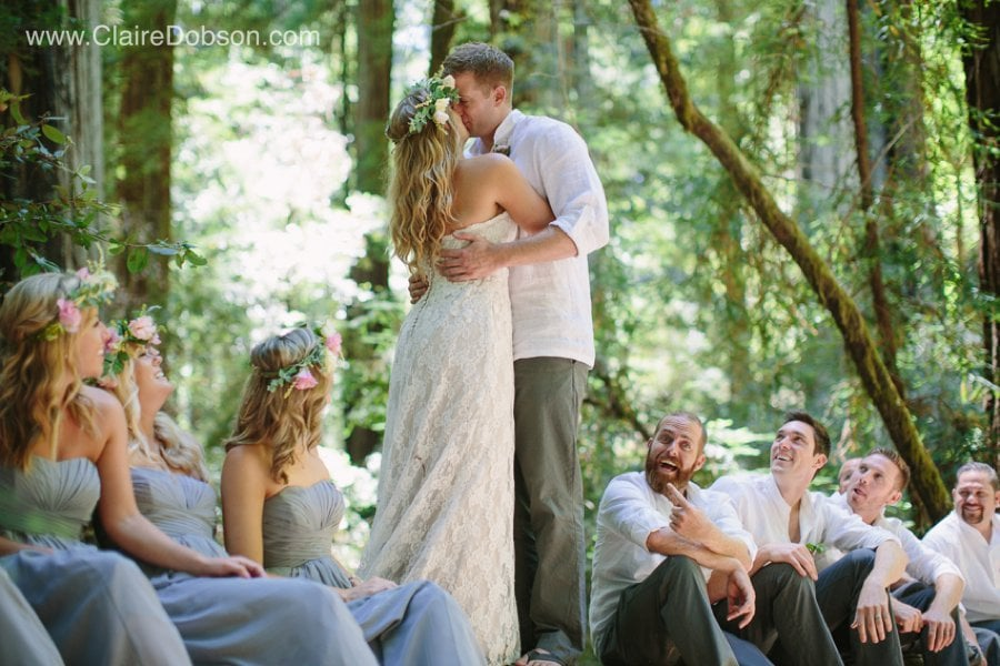 Armstrong Woods wedding photographer