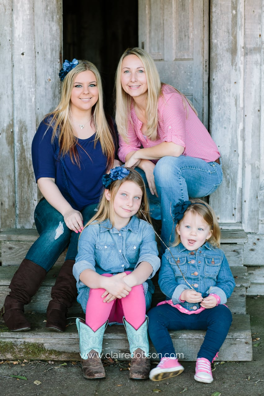 Family barn pictures