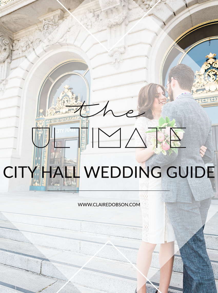 The ultimate guide to your san francisco city hall wedding. Learn the tips and tricks to getting amazing wedding photos at san francisco city hall.