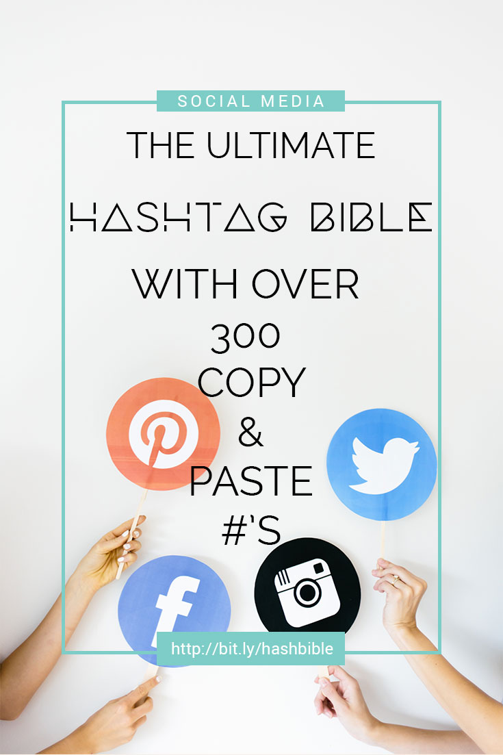 hashtag guide for promoting your services on social media
