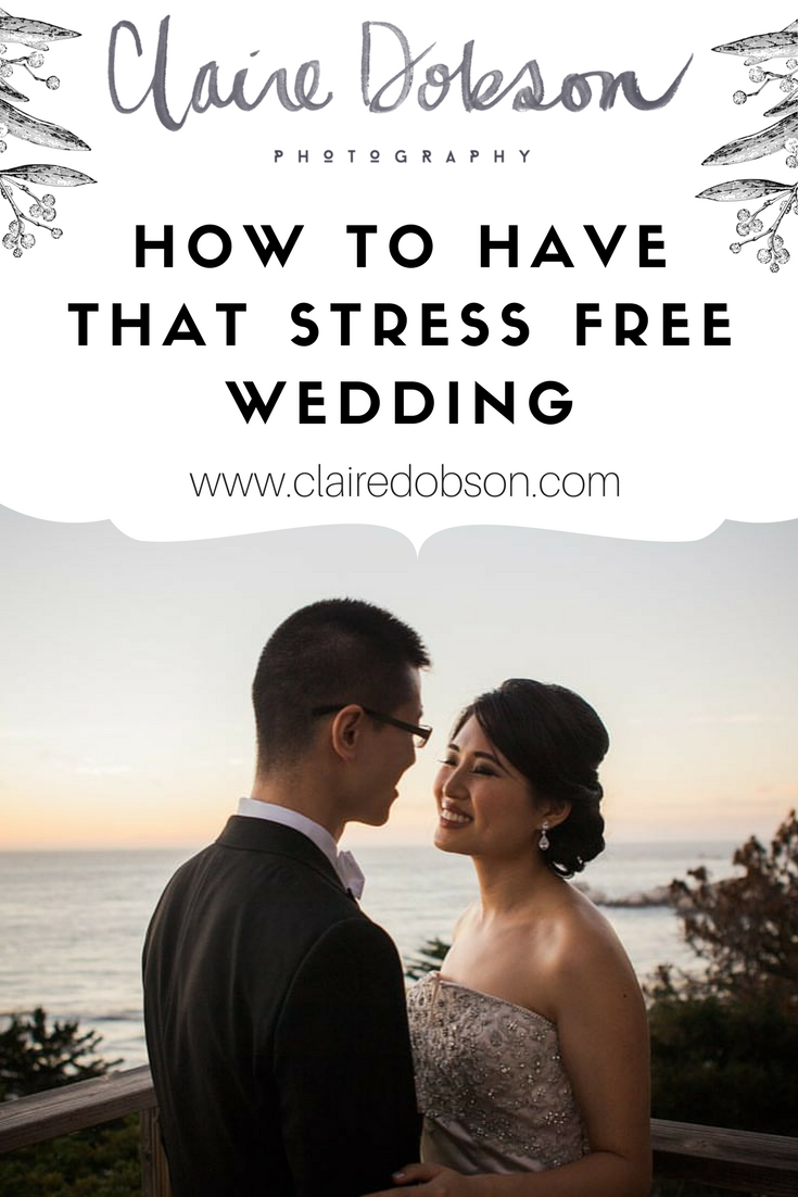 tips to have a stress free wedding