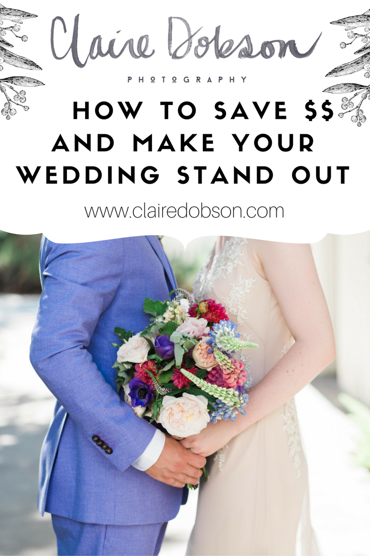 How to have a stand out wedding