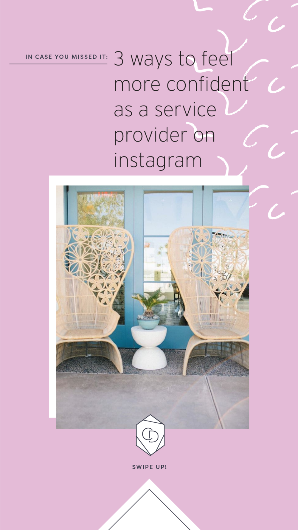 3 Ways to Feel More Confident as a Service Provider on Instagram