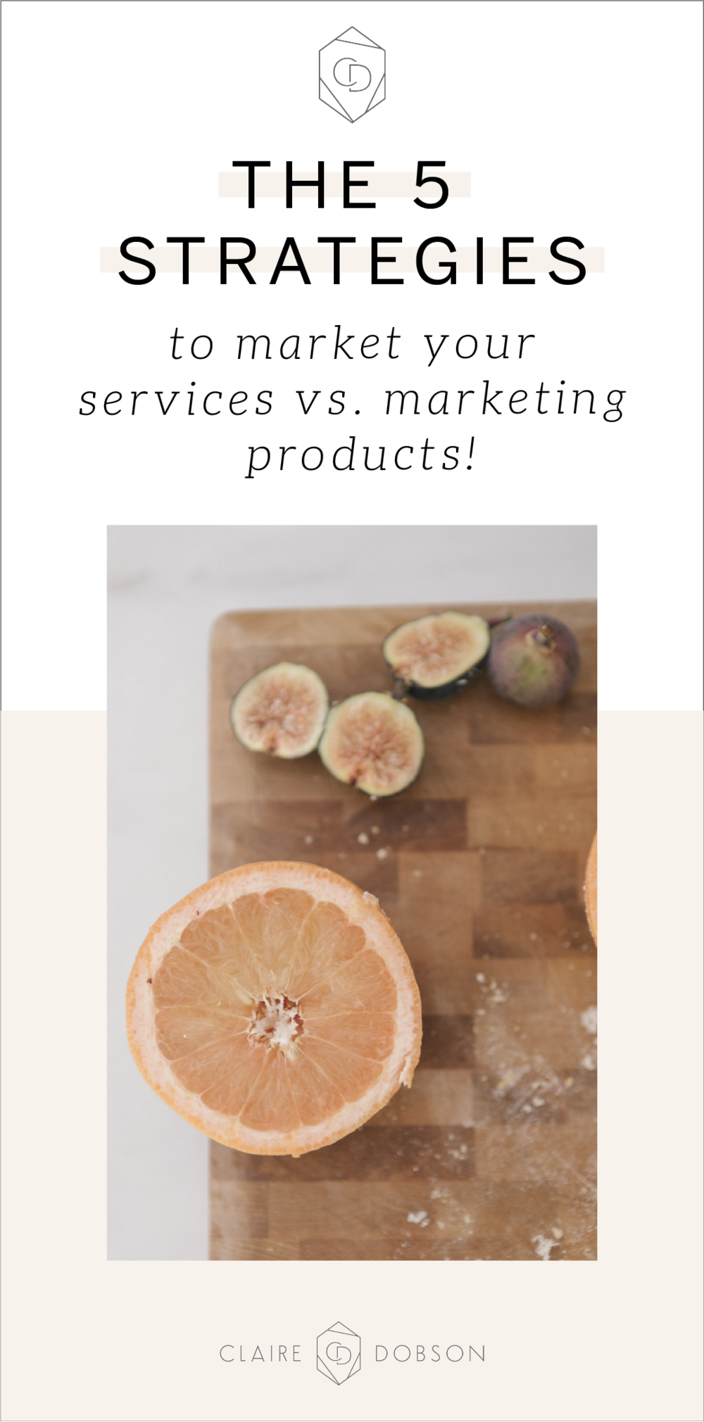 How to market your services vs marketing your products on Instagram. | As a service provider we're often faced with the challenge of not knowing what to post and exactly how to market our services. Products seems so much easier, am I right? Well fear not, because this blog post is all about how to market your services to actually get clients and make more money. #instagramtips #socialmediamarketing
