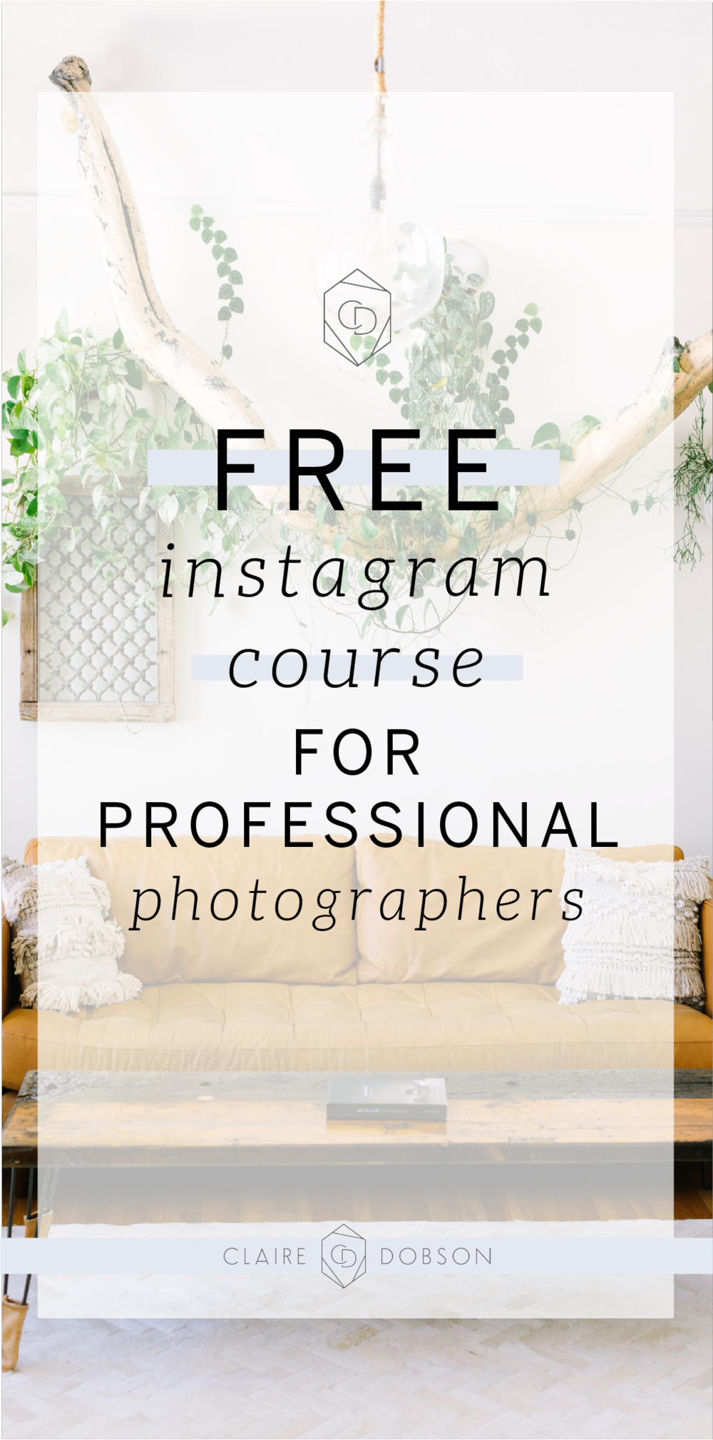 Are you dreaming of more followers and better engagement from your Instagram audience? Are you fed up of uploading images and captions each day, spending hours curating content and selecting hashtags, only to see no likes or comments when other people seem to be getting hundreds, or even thousands on every image? We've put together a free Instagram course for professional creatives just like you, enrol here now. #Instagram #InstagramTips #InstagramForBusiness #InstagramCourse #FreeInstagramCourse