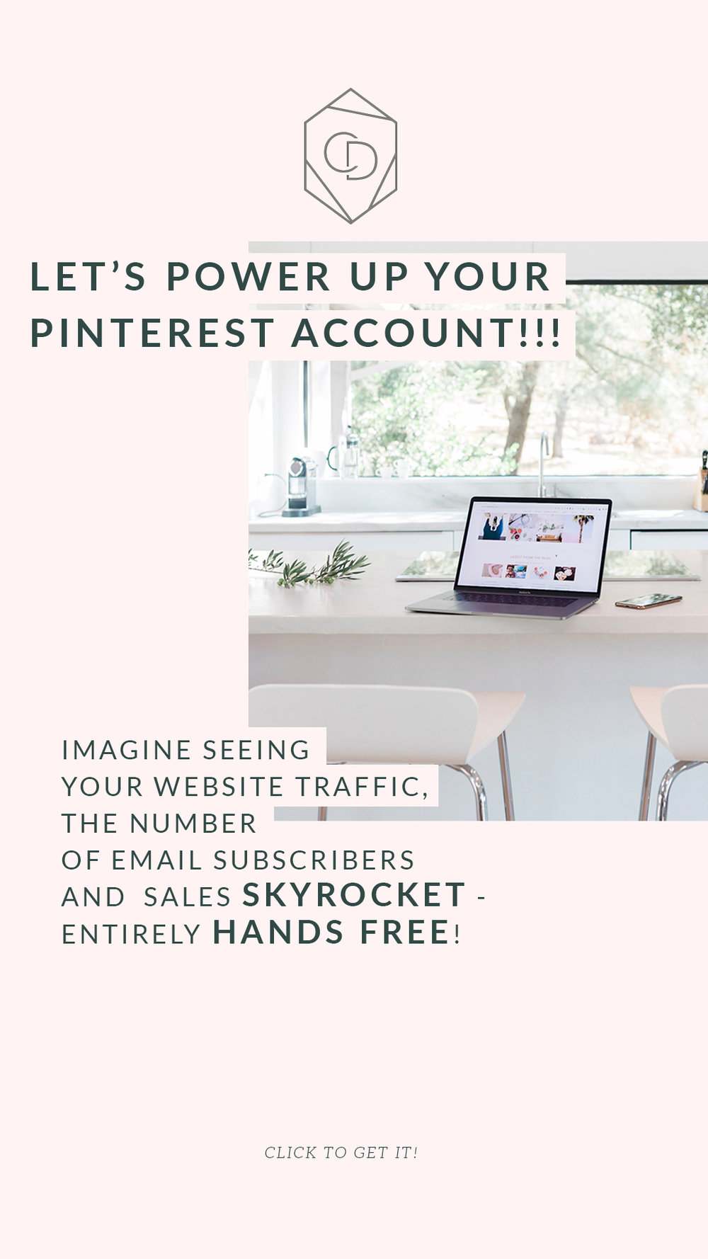 Hand off your Pinterest account to us to grow your blog traffic and website daily  page views. We will use the same tools I used to grow my accounts and my clients accounts to get over one million monthly views but also grow their monthly email subscribers. #emailmarketing #blogging #pinterestmarketing #socialmediamarketing #girboss
