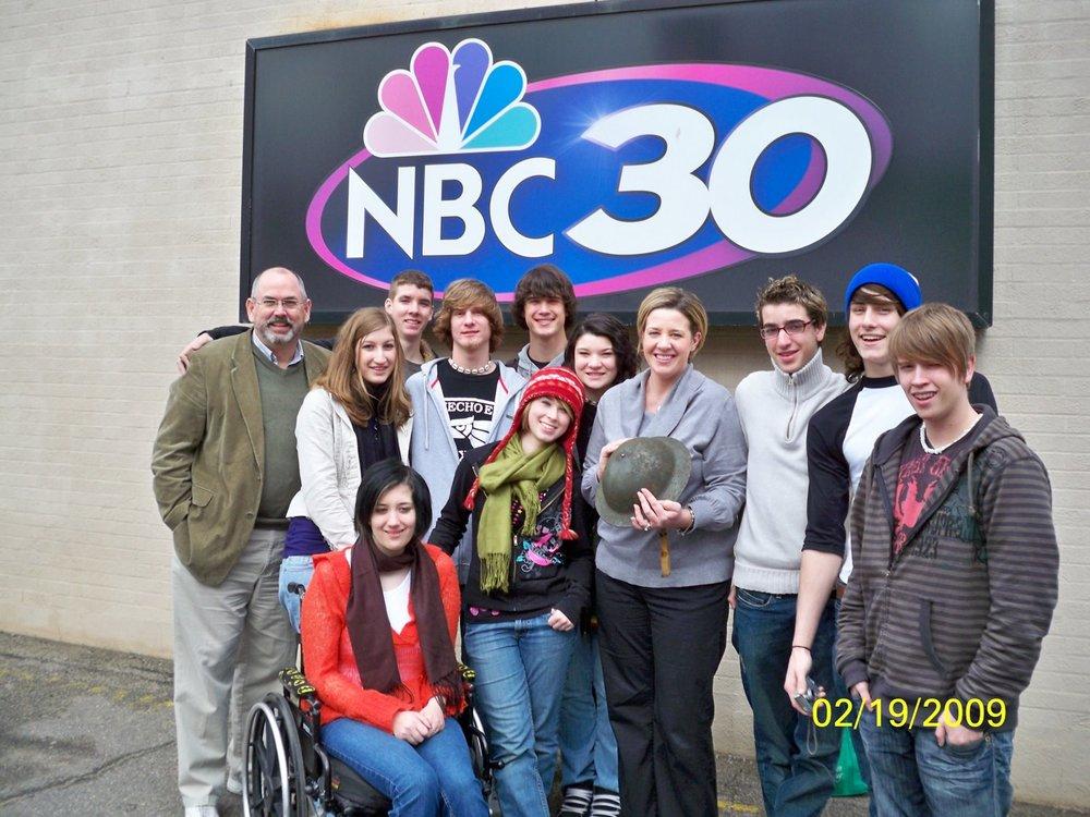 Students at NBC 30