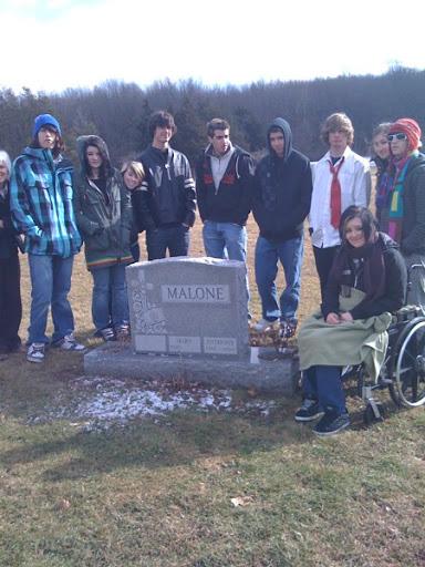 A.J. Malone Burial Site