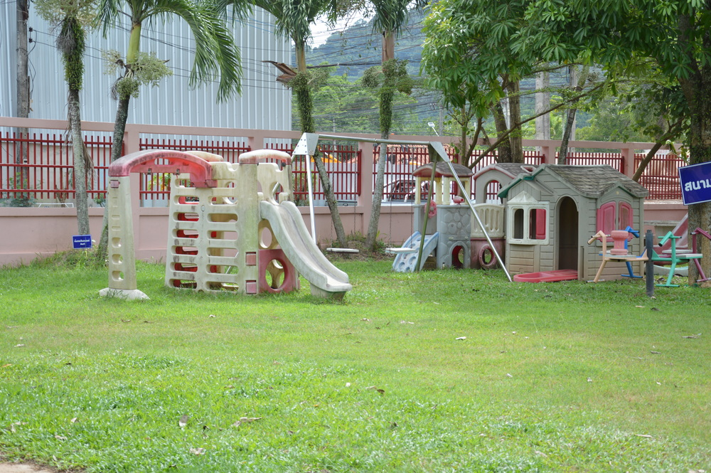 The original playground at the Phuket Special Education Centre, Kathu, November 2015