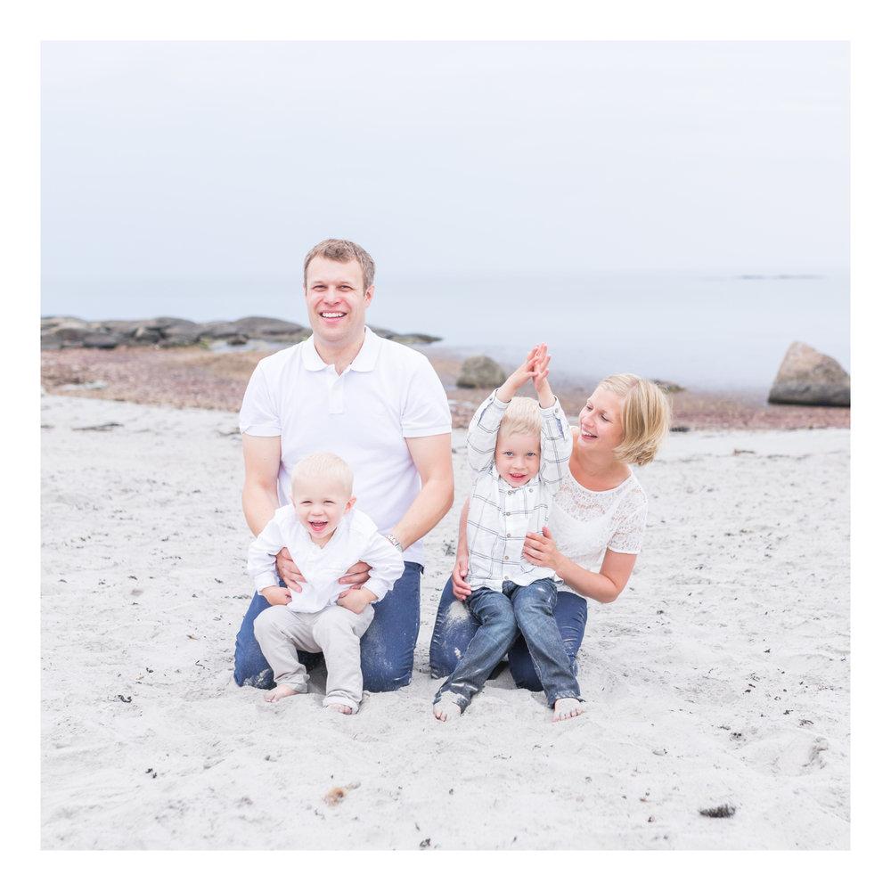 Familjefotografering Varberg, Getterön.