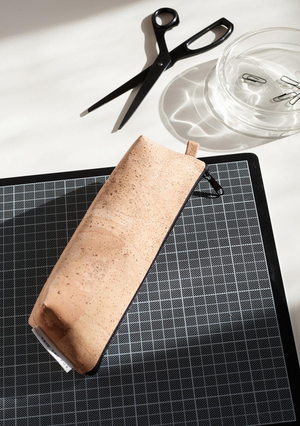 SAIDTHEFOX-lookbook-CorkSkin-pencilcase