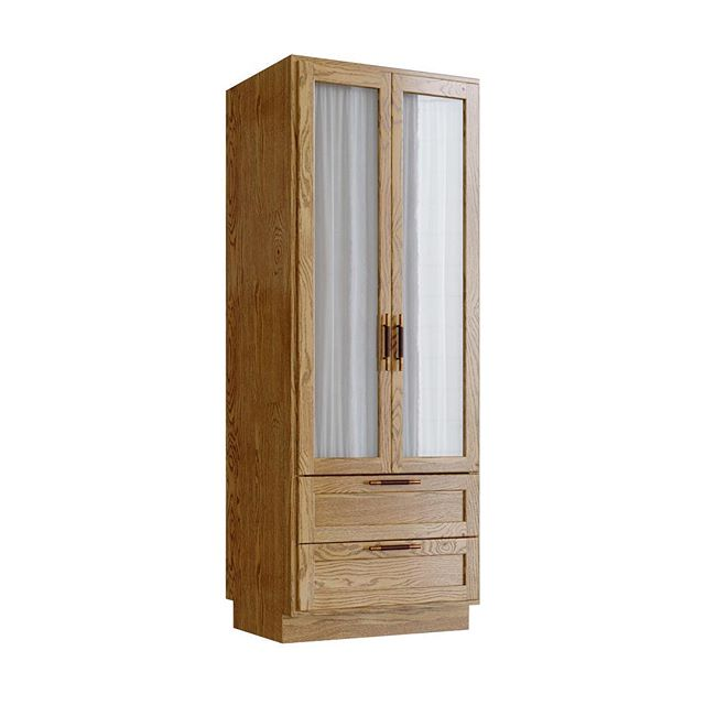 A Wardrobe for Sanders in natural Oak. Available now. Enquire at info@lindalmond.co
